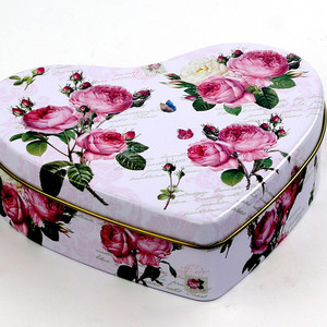 sweet heart candy tin