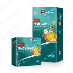 wholesale Natural Latex Fruit Jazz Smooth Condom manufacturers factory