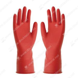 Red Household Latex Gloves