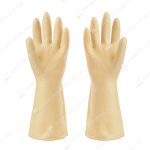 customized high quality Natural color industrial gloves suppliers factory