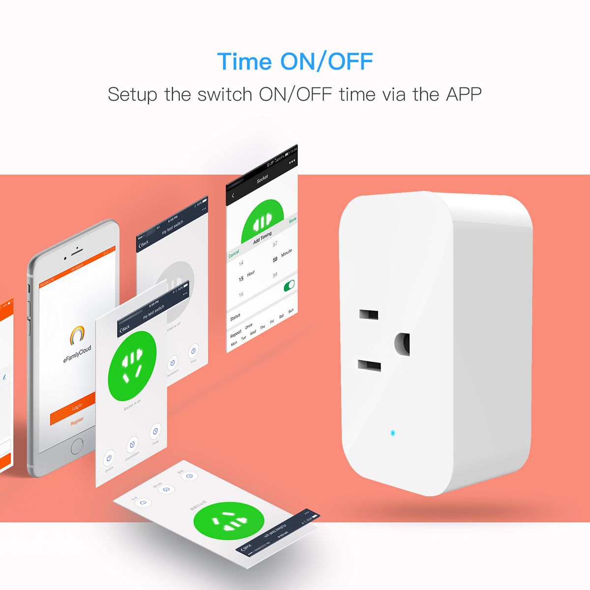 The Future of Smart Home(wifi smart socket)