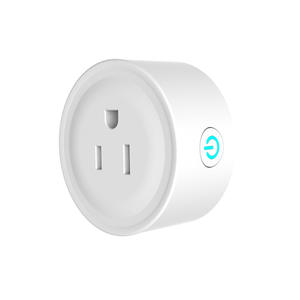 high quality Mini Round  US Smart Wifi Socket manufactures
