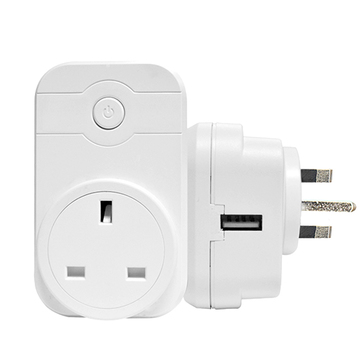 UK Smart Wifi Socket with USB PL03