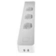 EU Smart WiFi Power Strip 3 AC Plug with 2 USB PS01