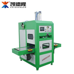 Automatic Powder Puff Making Machine, HF Welding Machine