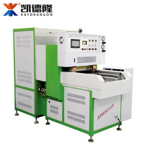 Shoe Upper Making Machine, HF Double-deck Embossing Machine