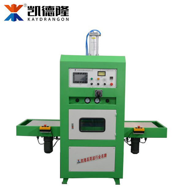 Shoe Upper Shoe Press Machine, HF Sliding-table Embossing Machine