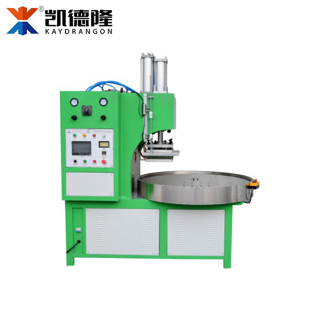 Automatic 4 Position Round Plate Blister Card Packaging Machine