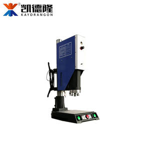 China plastic high power ultrasonic welding machine price for charger plug,power bank,bulb