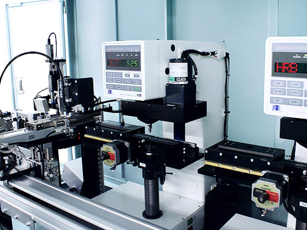 Various problems in the Rockwell hardness testing machine