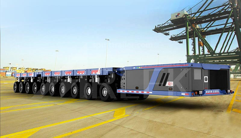 2.43-meter-wide self propelled modular transporters SPMT