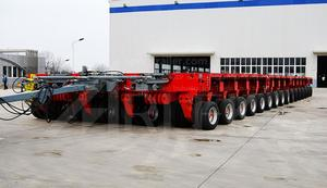 china custom-made hydraulic trailer for heavy equipment transport supplier price