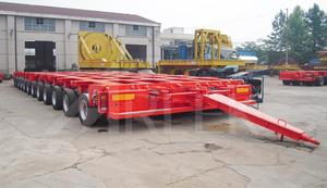 china customized hydraulic modular trailer manufacturer for sale