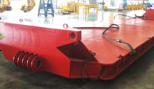 supply the 230 tons drop deck with high quality