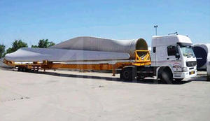 Hauling windmill blade trailers for transporter rotor blades for sale factory