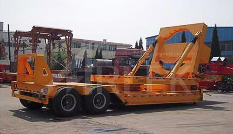 Windmill rotor blade adapter trailers