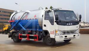 Sewage vacuum trucks and septic tank trucks