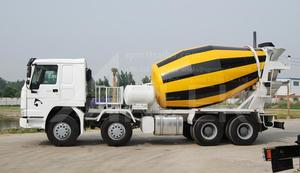 Concrete mixer truck is a special truck for transporting premixed concrete for construction purpose