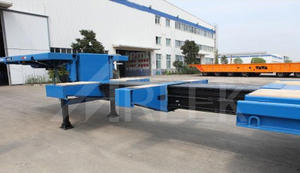 china custom-made Extendable semi trailers manufacturer supplier for sale