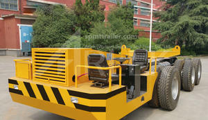 china customized 120-180T Multi-axle tire beam transporters factory manufacturer price
