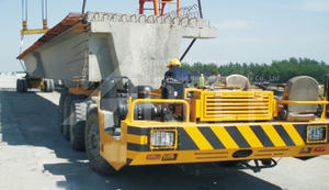 200T Multi-axle Tire Beam Transporters