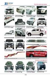 TOYOTA VIGO AUTO DECORATING PARTS