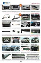 TOYOTA RAV4 AUTO DECORATING PARTS