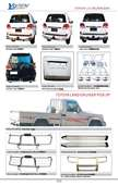 TOYOTA L/C 200 AND PICKUP AUTO DECORATING PARTS