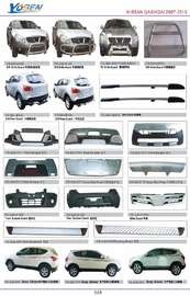 NISSAN QASHQAI AUTO DECORATING PARTS