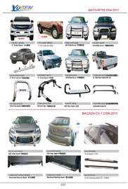 MAZDA BT50 AND CX-7 AUTO DECORATING PARTS