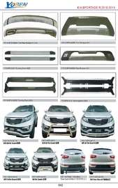 KIA SPORTAGE AUTO DECORATING PARTS