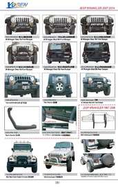 JEEP AUTO DECORATING PARTS