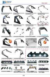 ROLL BAR AND LIGHT RACK  AUTO DECORATING PARTS