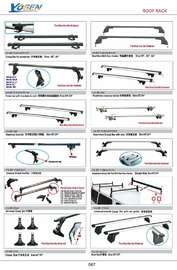 ROOF RACK AUTO DECORATING PARTS