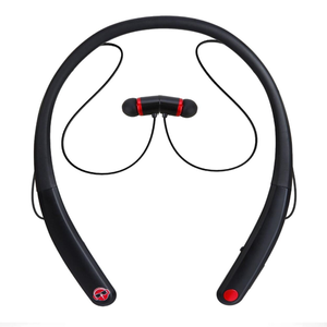 China factory directly sale retractable neckband Bluetooth headset JH-V009