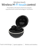 TWS Bluetooth earbuds Bluetooth wireless earpiece newest high quality Bluetooth 4.2 earbuds Bluetooth headphone