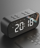 Wholesale Bass sound bluetooth speaker and clock smart Shape Bluetooth 4.2 Portable Wireless Speaker USB FM Radio