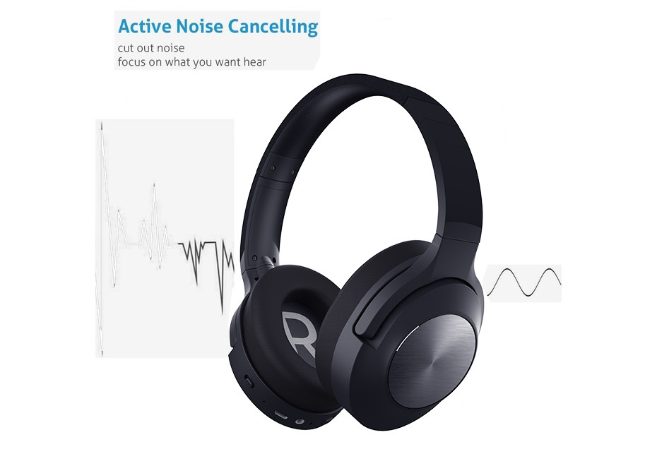 Active noise canceling headphone