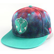Starry-Galaxy Print snapback hats