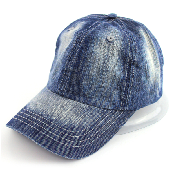 Custom denim blank dad hats