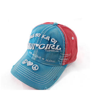 Red-Blue dad hats, Vintage style | Wintime Hat Manufacturer