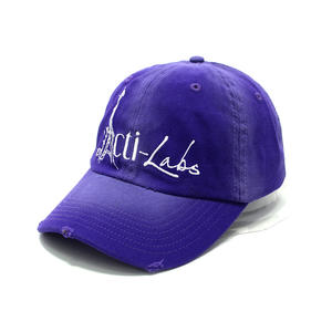 Worn-out purple dad hats | Wintime Hat Manufacturer