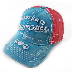 Worn-out vintage baseball hats | Wintime Hat Manufacturer