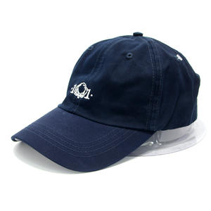 Embroidered Logo Denim Dad Hats