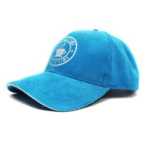 Corduroy blue baseball hats | Wintime Hat Manufacturer