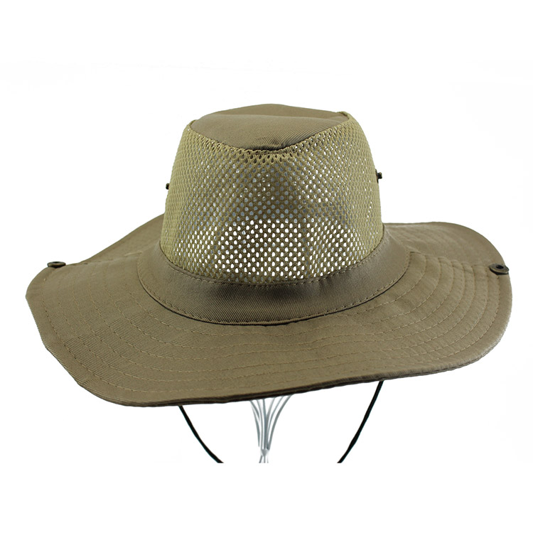 Mesh make vintage bucket hats