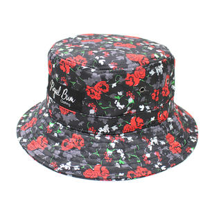 Custom Floral bucket hats | Wintime Hat Manufacturer