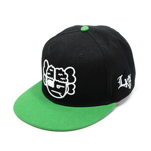 Black-Green Youth snapback hats | Wintime Hat Manufacturer