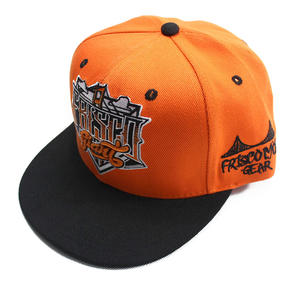 Orange cool snapback hats | Wintime Hat Manufacturer
