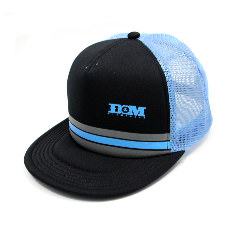 BOM fitted trucker hats